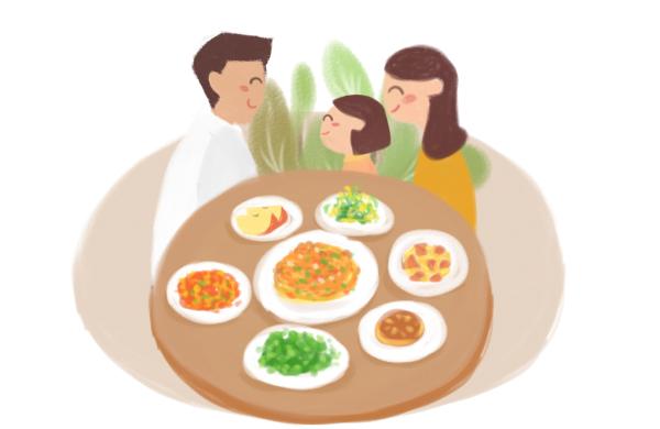 新华网创意手绘动画丨新华网公务行祝你平安回家,暖心过年