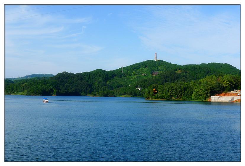 仁寿县黑龙滩风景区