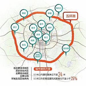 成都擬定五環內人口密度目標:每平方公裏降2200人