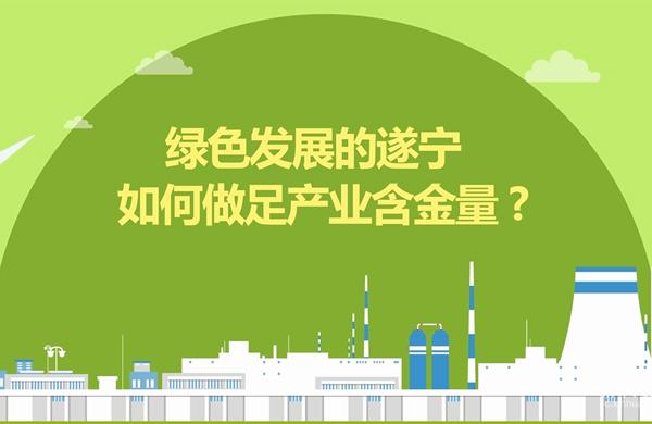 新華網MG丨綠色發展的遂寧如何做足産業含金量?