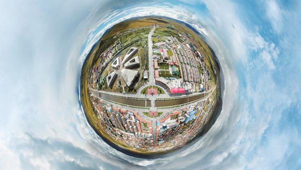 新華網VR|城市相冊之美麗四川@阿壩紅原縣