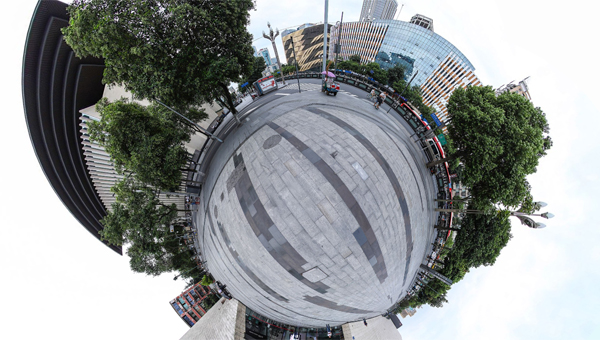 新华网VR丨线上虚拟展领略十位诗书画印名家笔下的蜀巴灵韵