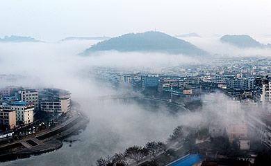 小鎮百科之我是四川晉原:霧涌斜江河