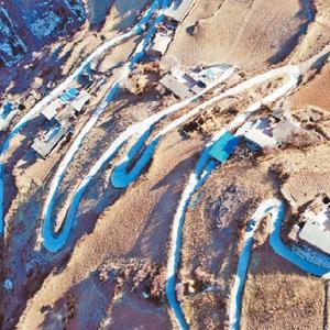 阿坝州的这张照片为《人民日报》这一整版的颜值加了分