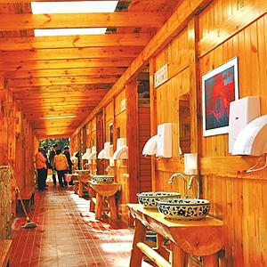 四川旅遊廁所怎麼建?人性化設計 男女廁位比不大于2:3