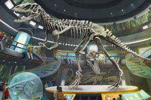 真正的侏羅紀世界在自貢