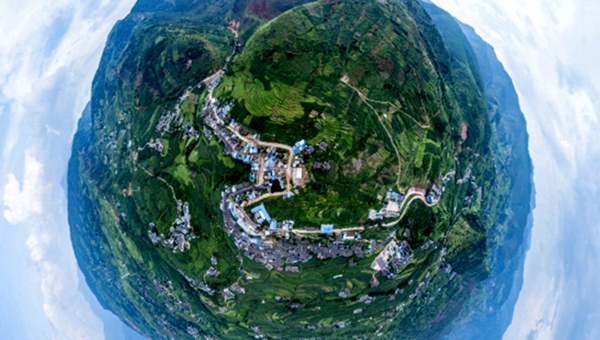 新華網VR|小鎮相冊之我是四川鐵柳鎮