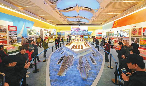 看!四川元素閃耀改革開放40周年大型展覽