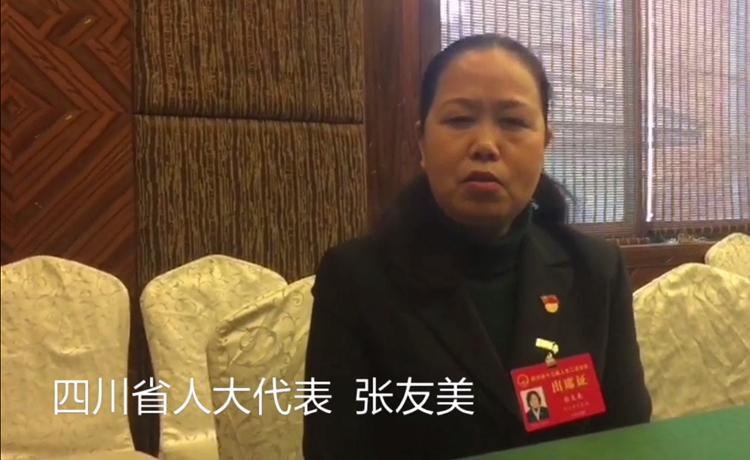 四川省人大代表张友美:在产业特色上做文章