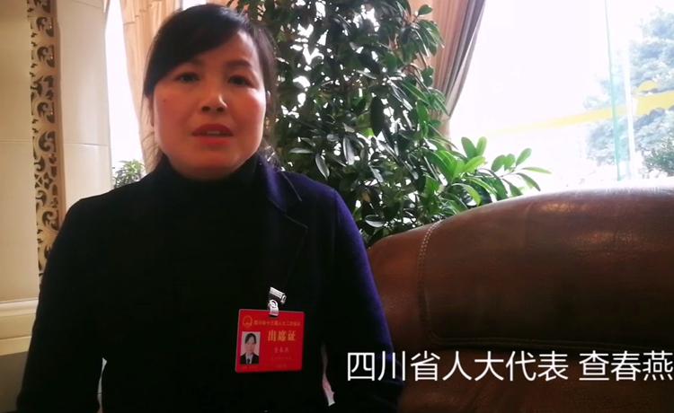 四川省人大代表查春燕:村民的认可是最大的成就感