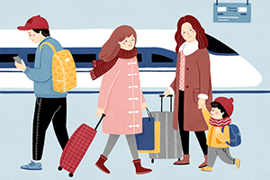2019年春運今日啟幕 四川省道路、鐵路、航空預計發送旅客數超過1億人次