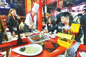 第100屆全國糖酒會在蓉開幕 來自40余個國家和地區的4000余家參展商參展