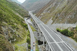 汶馬高速已建成路段開通了 最高時速100公裏