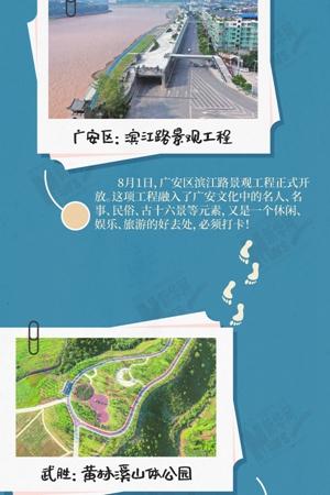 新華網圖表丨在廣安街頭走一走,這些驚喜可以有