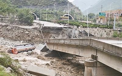 國社@四川|四川連日汛情致20余處主幹公路阻斷 正全力搶通