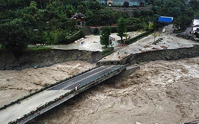 國社@四川|強降雨已導致四川阿壩7人死亡24人失聯