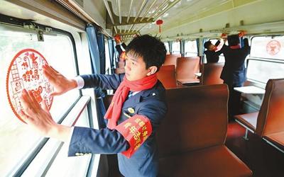 春运启动 四川加开列车接返乡旅客
