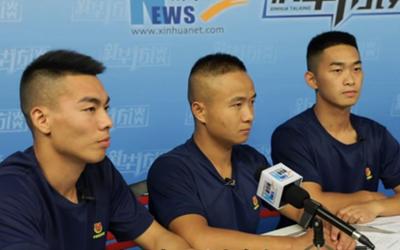 新華網短視頻|世警會歸來,幾位消防員分享了自己的感受