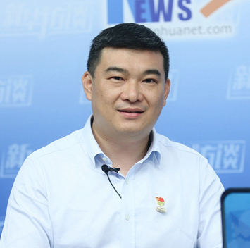 新華訪談 孫志文:與時代共振 與區域同行