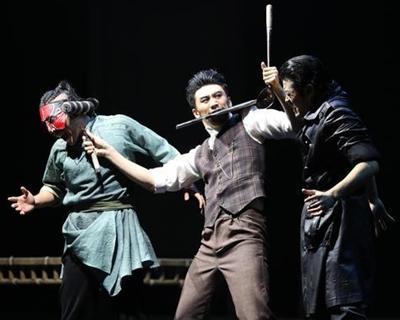"""第十二屆中國舞蹈""""荷花獎""""入圍舞劇《努力餐》在上海演出"""