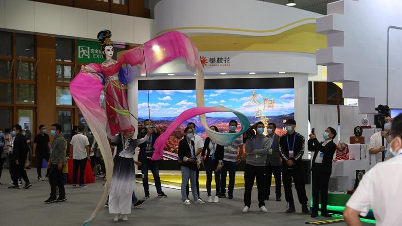 南充文旅亮相第七屆四川國際旅遊交易博覽會