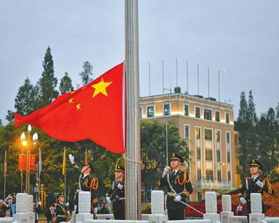 四川省多地舉行升國旗儀式 家國同慶 祝福祖國