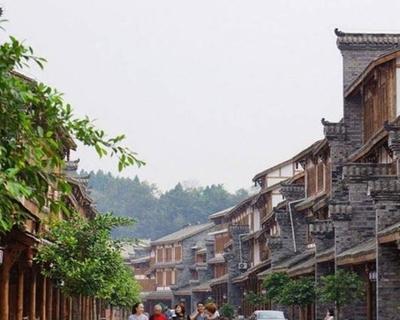 熊貓社區小鎮故事|西南郪漢文化古鎮——郪江鎮