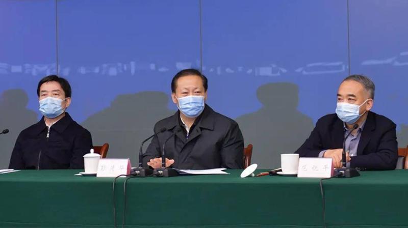 彭清華:堅決打贏成都市郫都區疫情防控這場遭遇戰