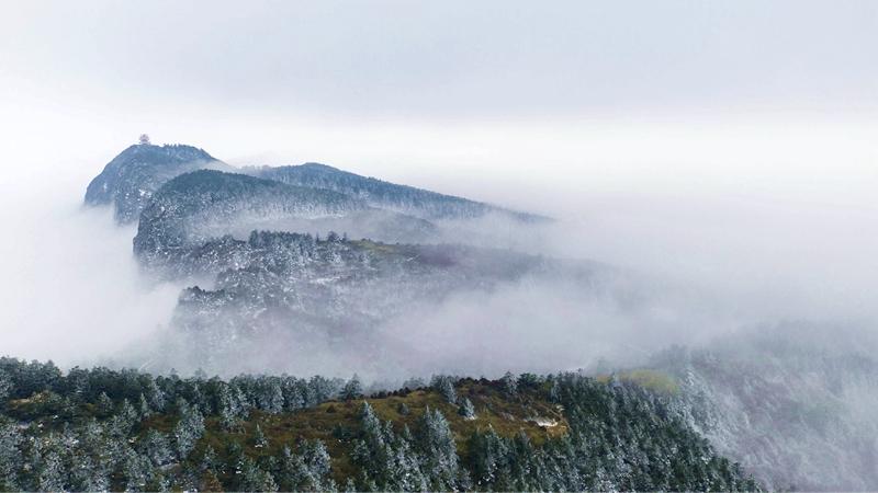 國社@四川|峨眉山冰雪溫泉節開幕