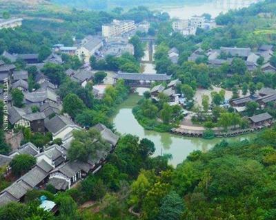 熊貓社區小鎮故事|半邊山江半邊城——金堂五鳳鎮