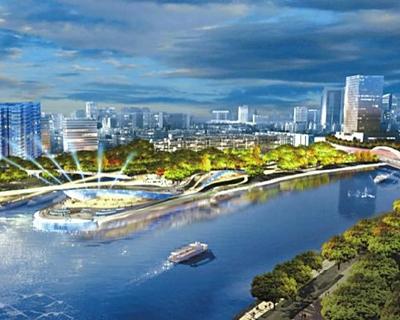 成都首個漂浮公園明年完工