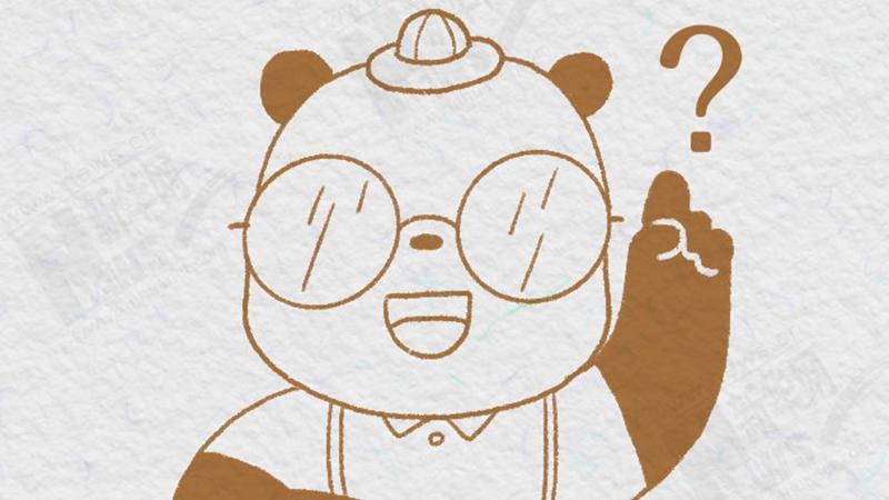 """熊貓""""漫""""科普:誰説熊貓只能拍""""黑白照""""?"""