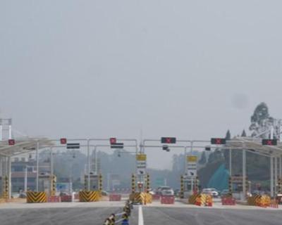 廣安過境及渝廣支線高速公路建成通車