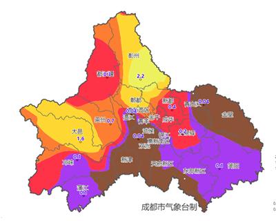 """成都濃霧""""鎖城"""" 氣象專家:預計29日冷空氣""""解圍"""""""