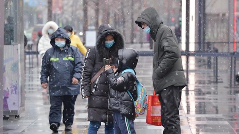 國社@四川|成都市區迎來降雪