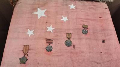 國社@四川|一面珍藏了半個多世紀五星紅旗的背後
